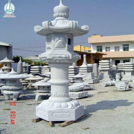 High Quality Outdoor Granite Stone Lantern - Lantern