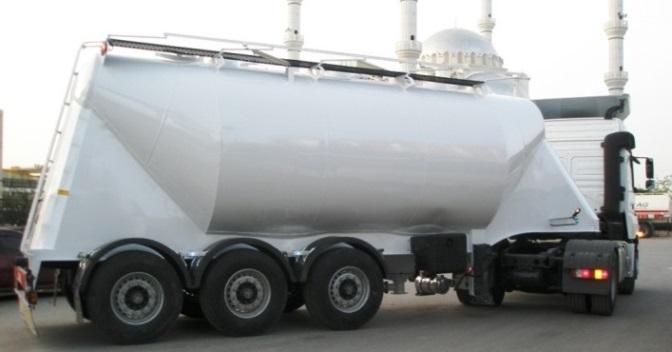 Silobas Cement Trailer - Silobas Cement Trailer, Trailer for Dry Cement