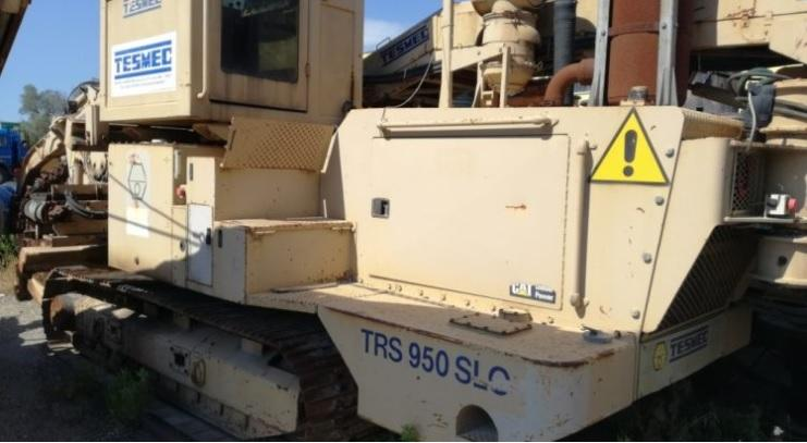 Used Trencher - Tesmec TRS 950 SLO