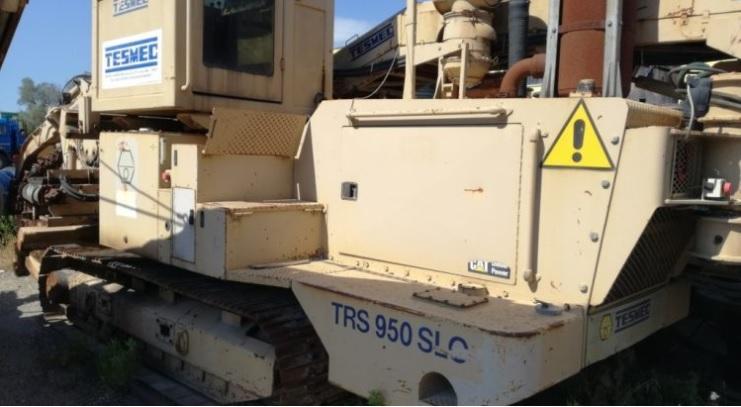 Used Trencher - Tesmec TRS 950 SLO