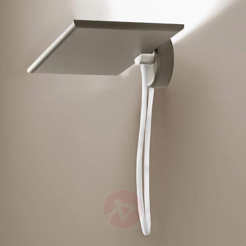Grey LED wall uplighter GiuUp - Wall Washer Lights