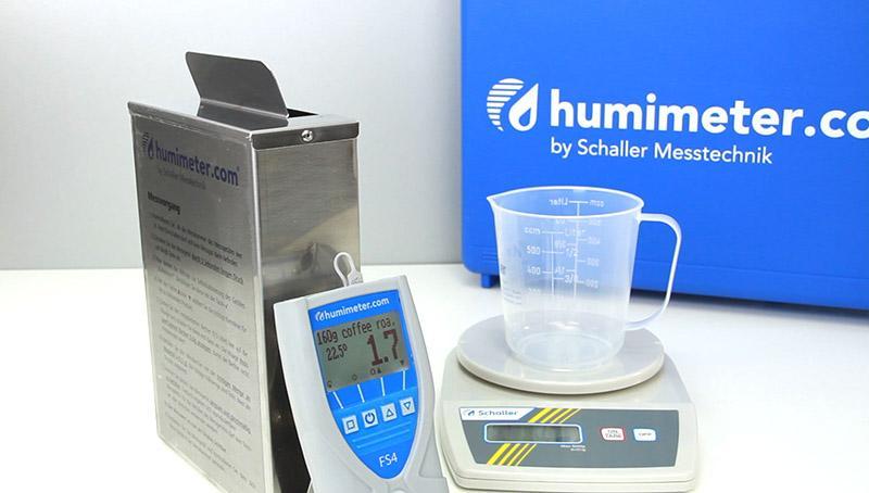 Ganzkorn Getreide Feuchtemessgerät - humimeter FS2 - Sekundenschnell Zerstörungsfreie Ganzkorn Feuchtigkeitsmessung