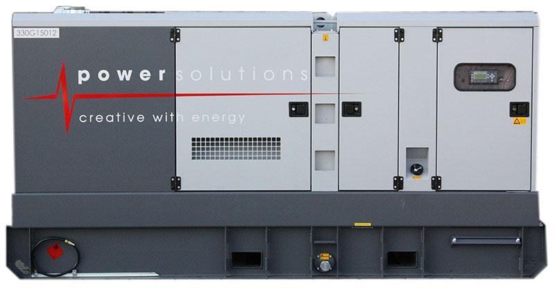 Générateur 270 kVA - Fiche technique