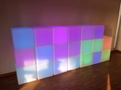 Location de Cube lumineux - null
