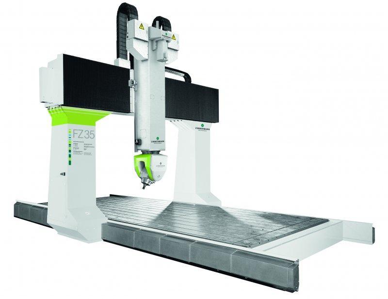 CNC фрезерный станок портал FZ35 - 5 ось - FZ35 для экономичной обработки металлов к пластику