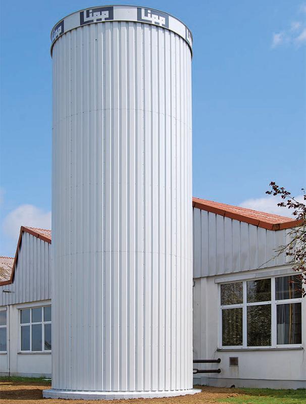Lipp® Thermal Storage Tanks - Heat storage of renewable energies for 200 to 2,000 m³