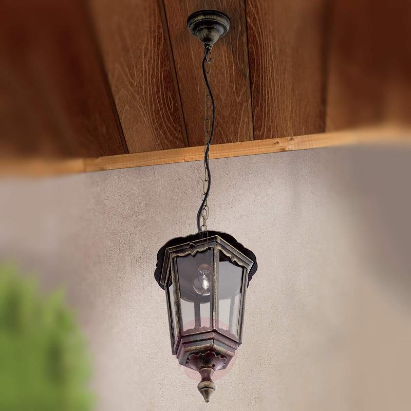 Fabio Pendant Light for Outside - Outdoor Pendant Lighting