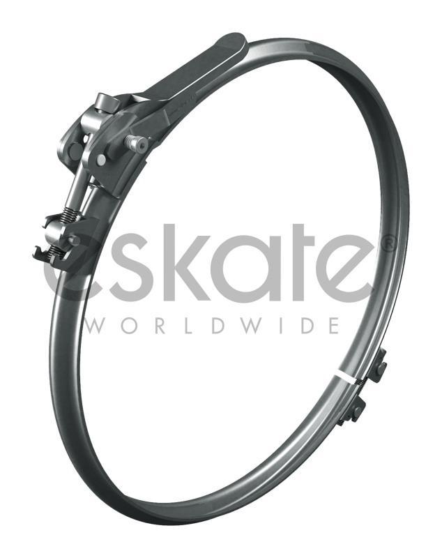 Schnellverschlußspannring Safe & Solid - ESKATE® Schnellverschluss Spannring SAFE & SOLID® für Bördeldichtring