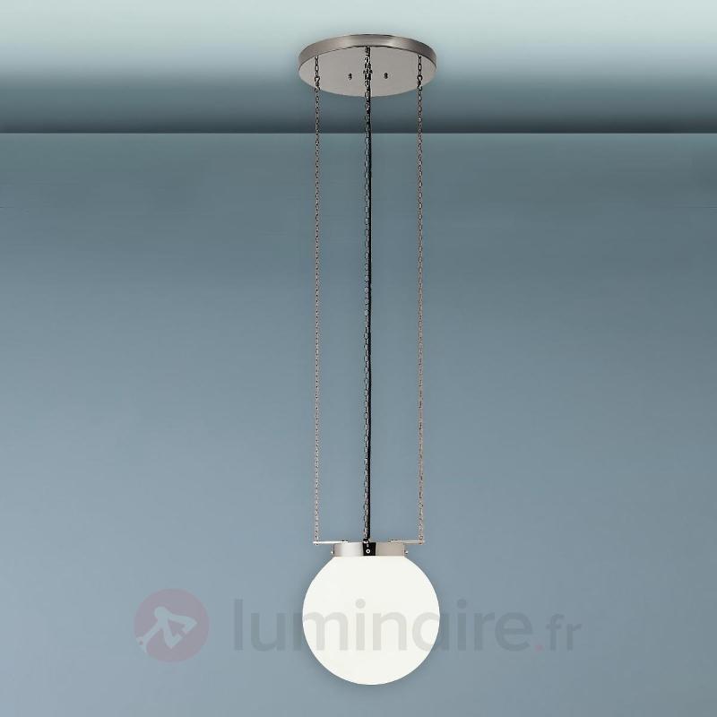 Suspension nickel style Bauhaus - Suspensions design