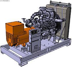 Groupes industriels standard - D750U