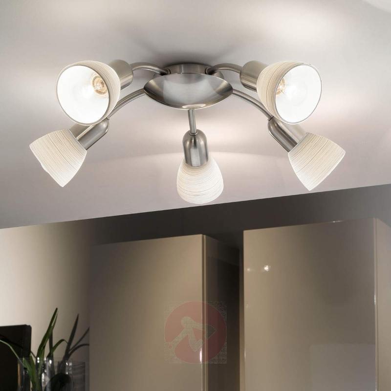 Appealing ceiling light Dake, 5-bulb - Ceiling Lights