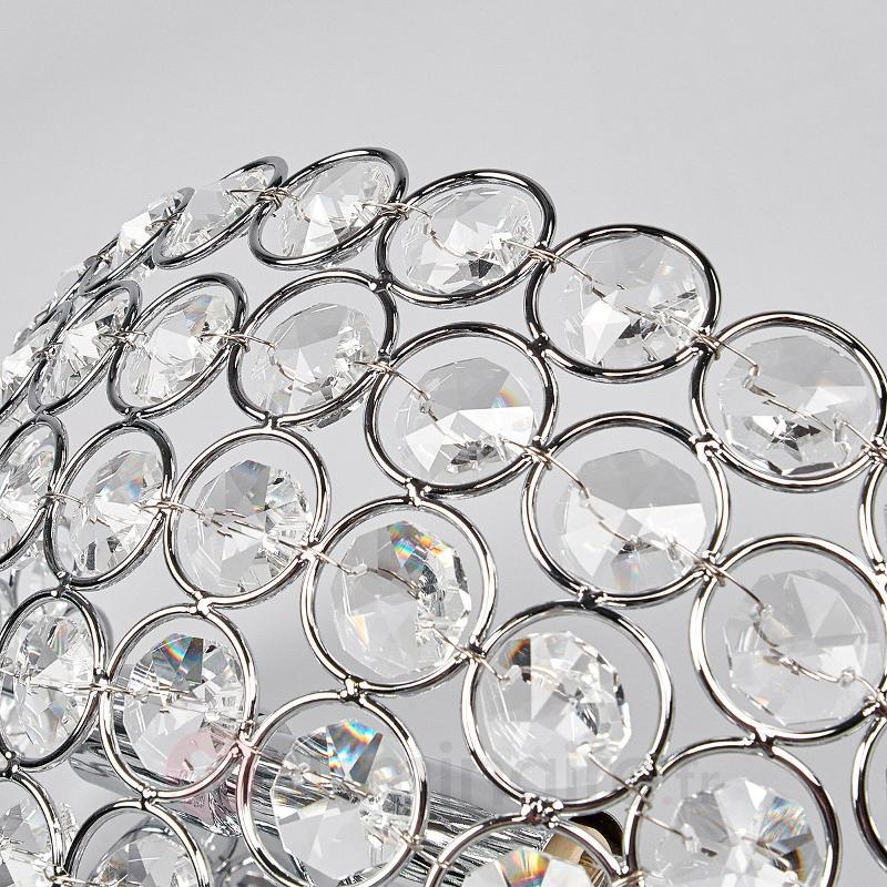 Edda - applique en cristal - Appliques chromées/nickel/inox