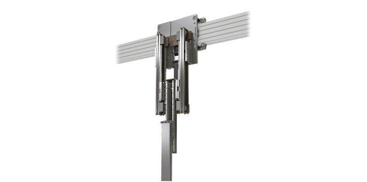 Telescopic Actuator - Z - Telescopic actuator with a synchronized toothed belt system for effective linear
