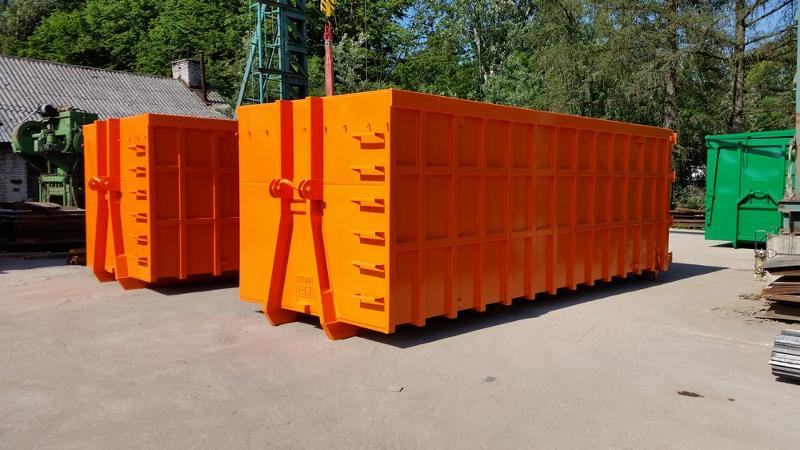 Reinforced / Heavy Type Containers - Hooklift containers / roll-on roll-off containers