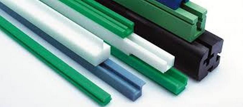Glissière en plastique pour Chaînes à rouleaux - Glissière en plastique pour Chaînes à rouleaux