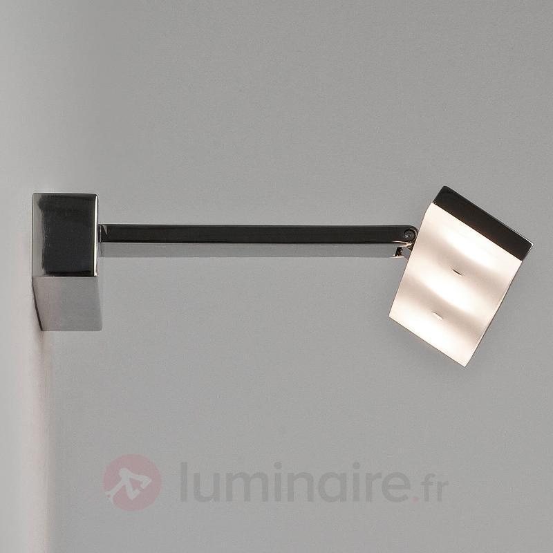Applique LED moderne ZIP - Appliques chromées/nickel/inox