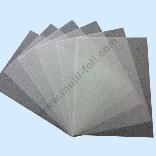 Fiberglass Veil Cloth - Laminated Foil