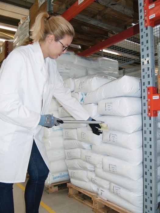 All layer sampler (muestreador multicapa) - Dispositivo de muestreo para polvos y granos grandes (maíz o nueces)