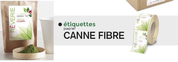 Fournisseur Étiquettes Canne Fibre -