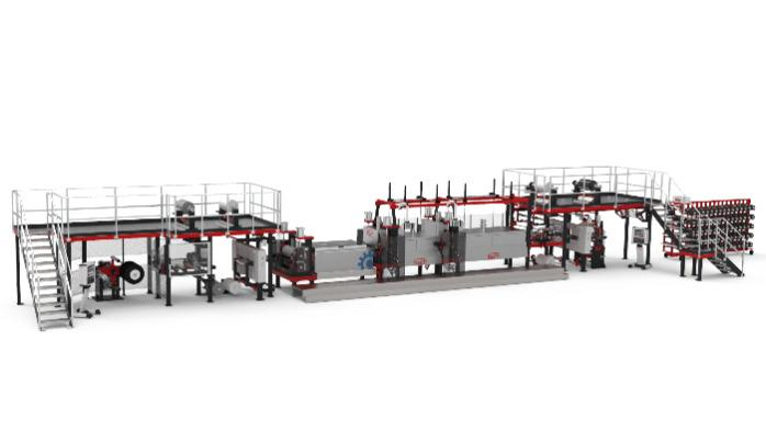 Prepreg Prduktionsanlage -