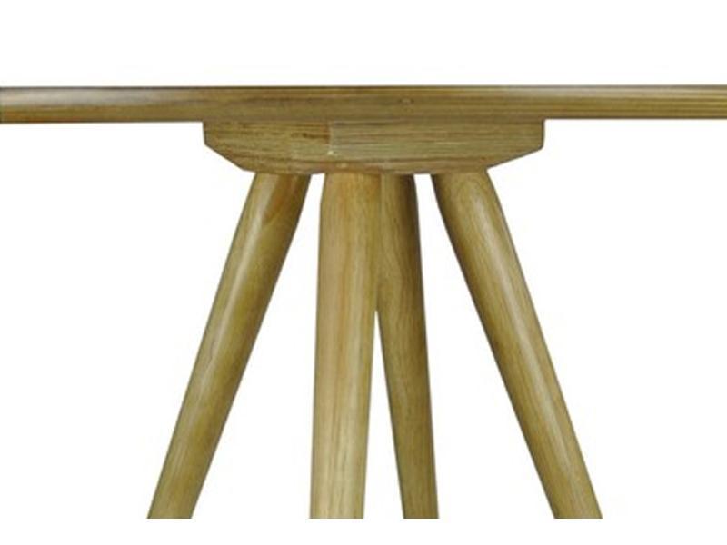 table bistrot bois naturel 129 sienne mycreationdesign com france. Black Bedroom Furniture Sets. Home Design Ideas