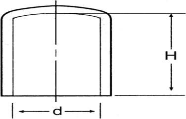 N11 - Protecteurs souples ronds PVC - Capes coiffantes lisses multi-usages