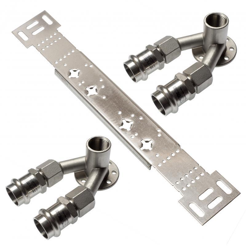 NiroSan® Montageset mit Doppelwandscheiben - NiroSan® Montageset mit Doppelwandscheiben