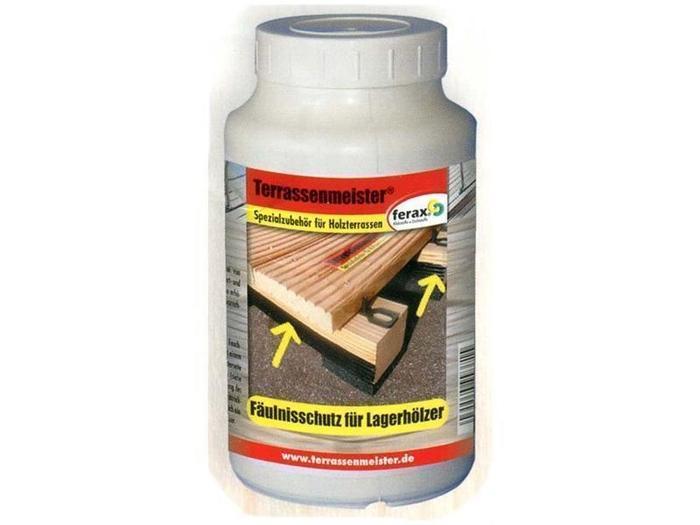 Terrassenpflege Produkte - Fäulnisschutz für Lagerhölzer 1000 ml
