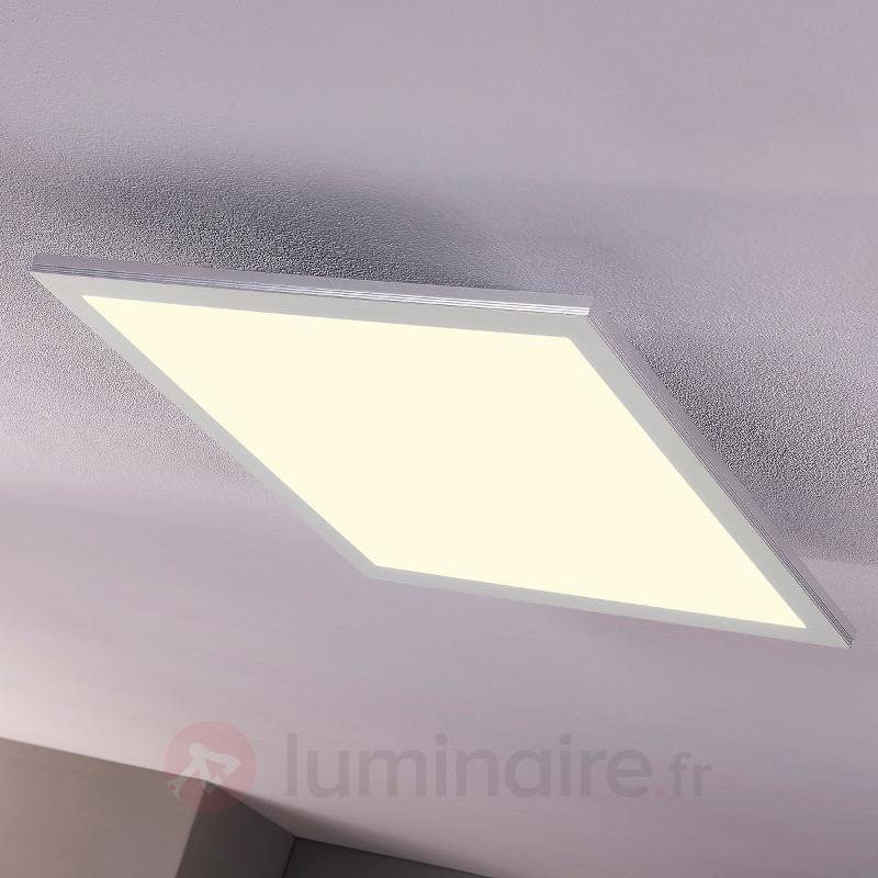 Panneau LED Liv encastrable ou apparent, 62 cm - Plafonniers LED