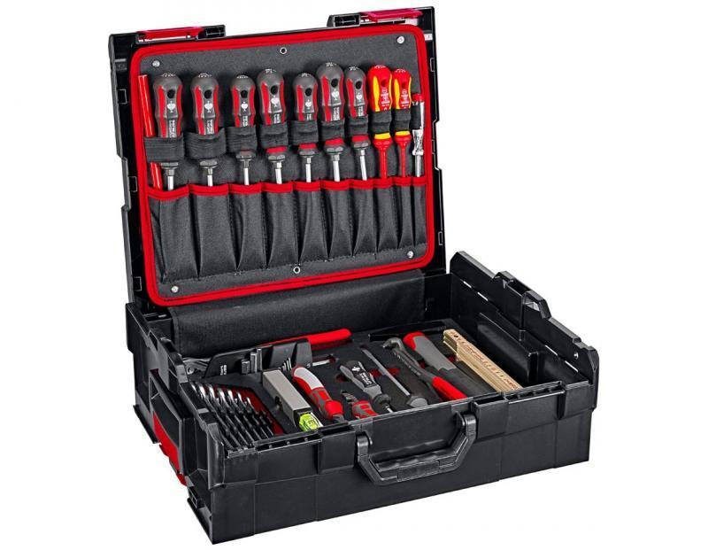 Système de valise, mallette et assortiment L-BOXX 136 - La L-BOXX - un projet commun de Bosch et Sortimo