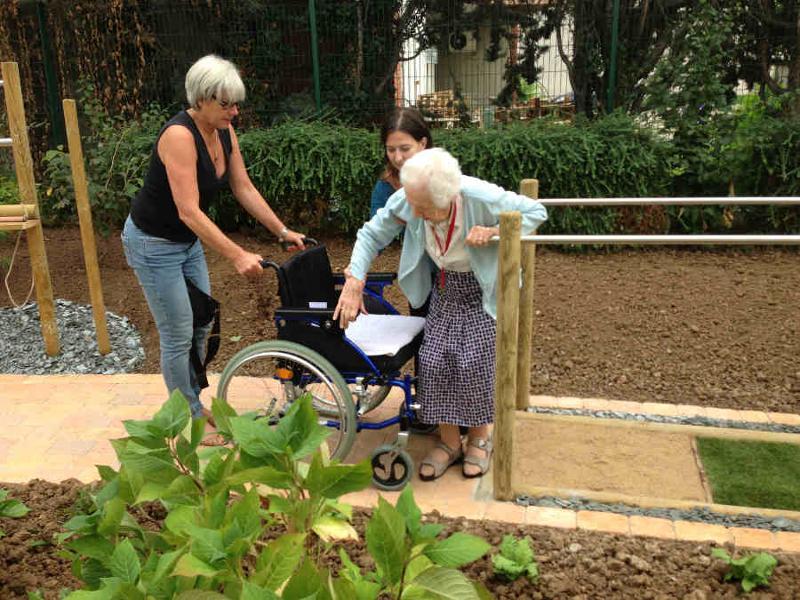 Jardin & syndrome gériatrique - Service