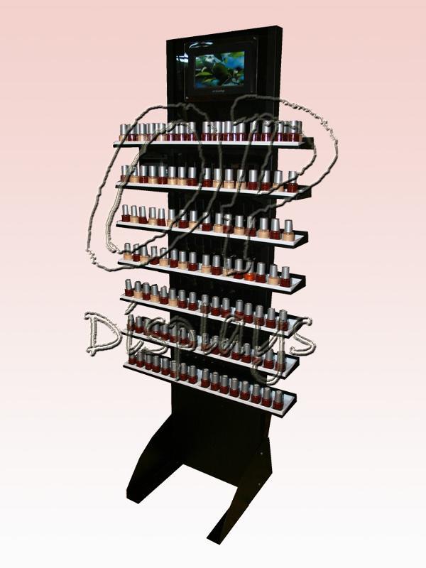 "Vertical Rack mod. ""Carlotta Smalti + LCD"" - null"