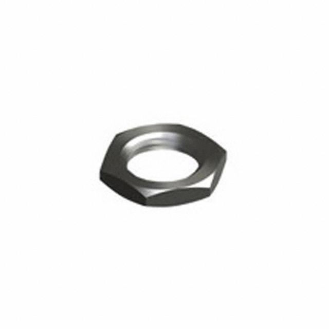 """HEX NUT 3/8"""" BRASS 1/4-32 - Keystone Electronics 1448"""
