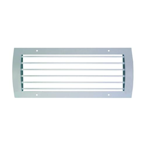 Ventilating grilles for spiral ducts with horizontal... - null