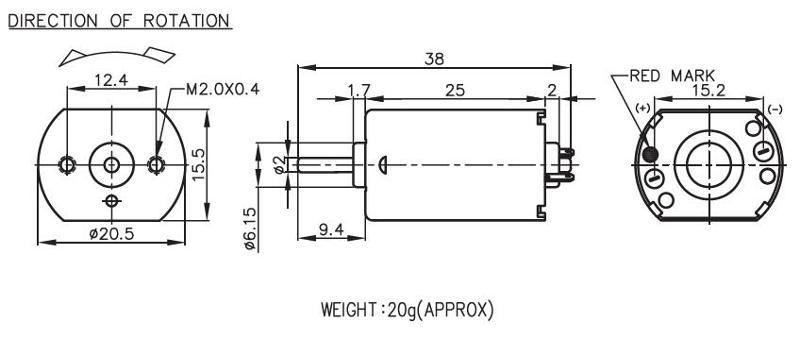 FK-130 - Brush DC Motor