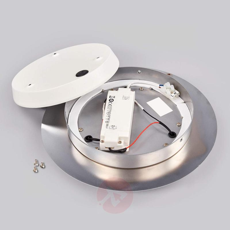 Castil - round LED ceiling lamp with 3 rings, IP44 - indoor-lighting