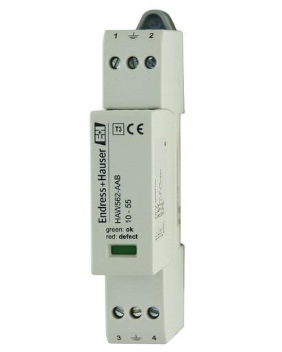 HAW562  Protezione alle sovratensioni - Protezione alle sovratensioni per guida DIN secondo IEC 60715