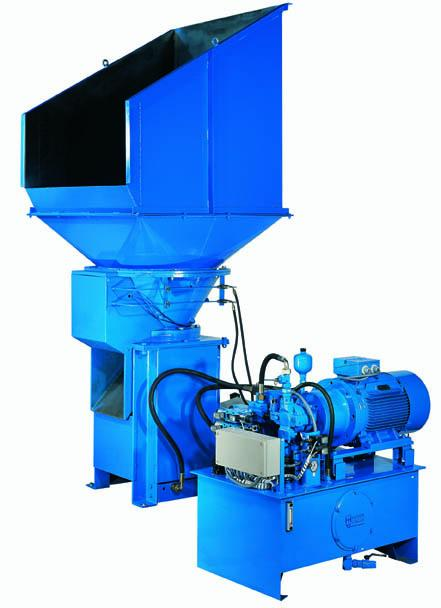 VC Swarf Crusher - Coolant Filtration Systems