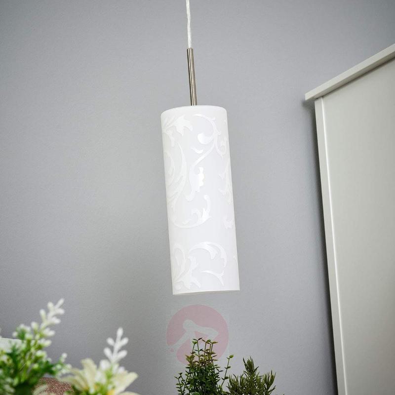 Amanda - artistic pendant light, 1-bulb - Pendant Lighting