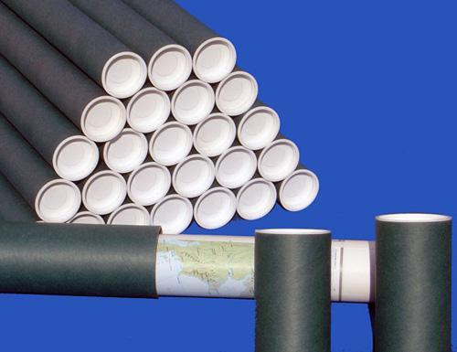Tube d'expédition en carton - tube d'emballage , tube de stockage : série Normatu