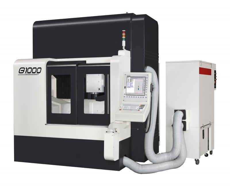 3-Axis-Machining-Center - G1000 - 3-Axis-machine-center for construction and forming of tools, G1000, Takumi