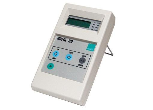 TRANS CAL 7270 -  Mobile Display Device - For load cells,pressure- and torque sensors based on strain gages,Tare function,