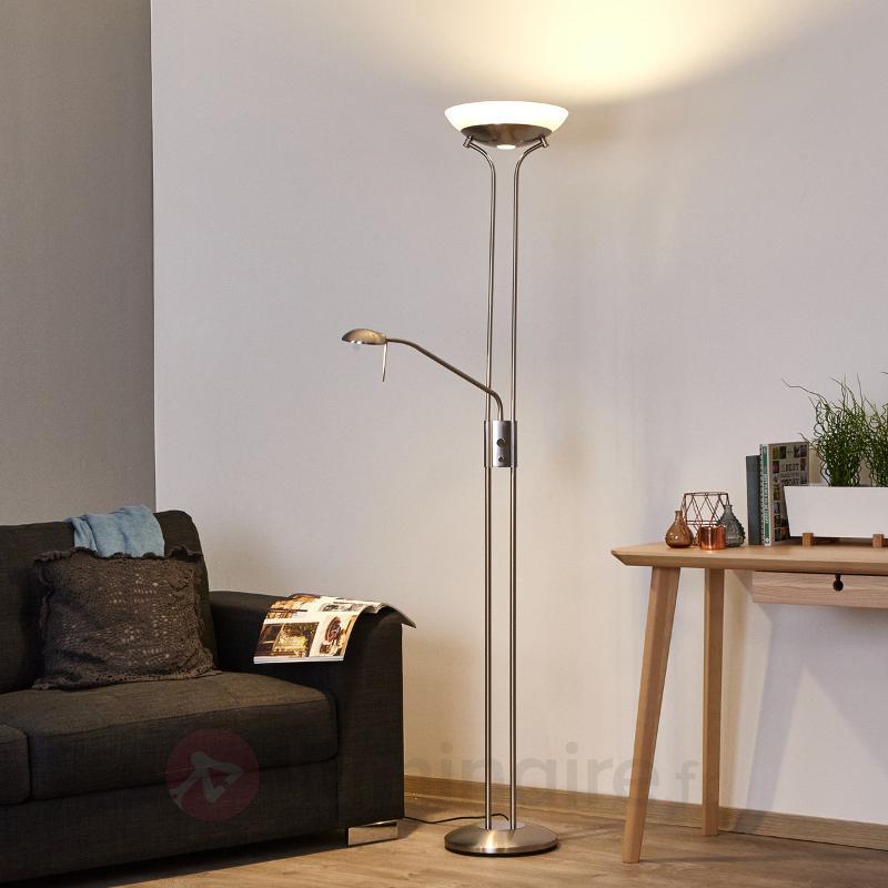 Lampadaire à éclairage indirect LED Denise - Lampadaires LED à éclairage indirect