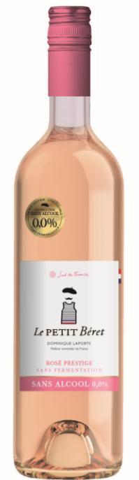 ROSÉ PRESTIGE SANS ALCOOL 0.0% ET SANS FERMENTATION - Boissons