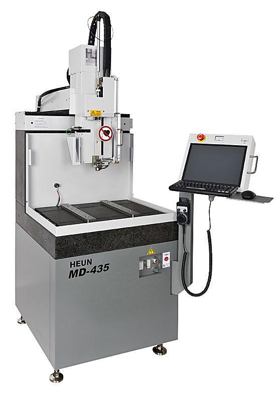 MD-435 CNC Wechsler Hochpräzise Erodierbohrmaschine