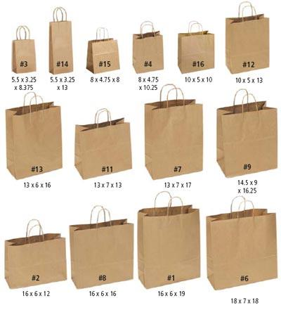 paper shopping bags quality bulk gift bags ecofriendly recycled kraft bags