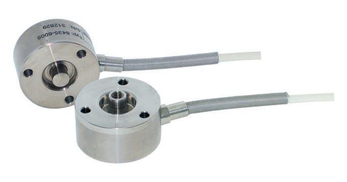 拉压力传感器 - 8435 - 结构紧凑,尺寸小,精确,价格低廉,易于组装到现有结构中,用于静态和动态测量,不锈钢