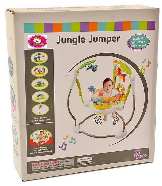 1cbc65e61 Rainforest Jumperoo Baby Jumper Walker Bouncer Activity-Seat
