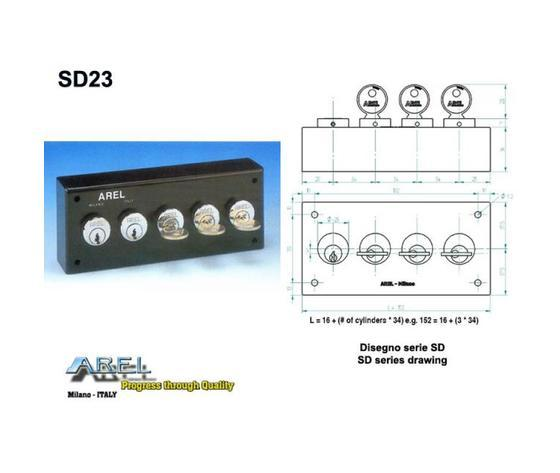 Distributori di Chiavi - Distributore chiave SD23