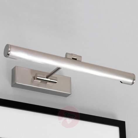 Goya 760 LED Picture Light Beautiful Nickel - design-hotel-lighting